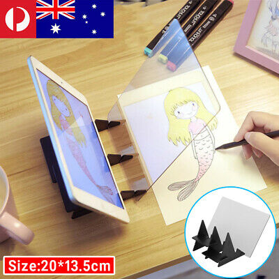 Optical LED Tracing Drawing Board Light Image Copy Pad Art Design Painting