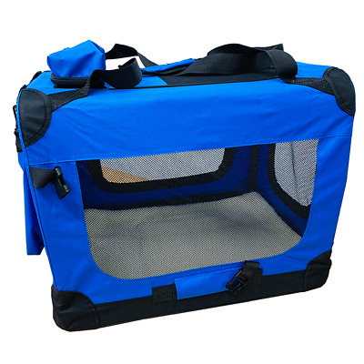 Large Pet Carrier Comfort Airline Approved Soft Sided Travel Bag Foldable