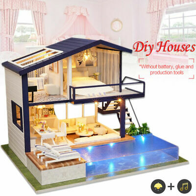 LOL SURPRISE DOLL HOUSE Made with REAL WOOD Furniture Diy House Kids Gif