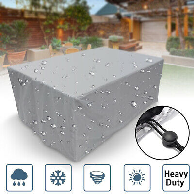 Extra Large Garden Rattan Outdoor Furniture Cover Patio Table Protection Anti UV