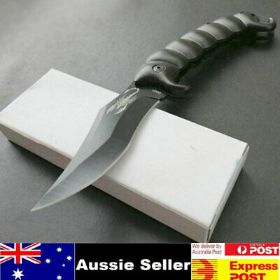 Outdoor Tactical Folding Knife Camping Survival Scorpion Dagger Collection AU