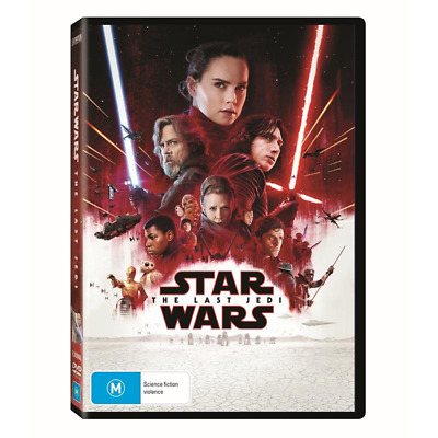 STAR WARS - The LAST JEDI (DVD, 2018) : NEW
