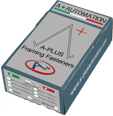 10MM V-Nails/Wedges - Compatible with A+ and Minigraf (Alfamacchine) Underpinner