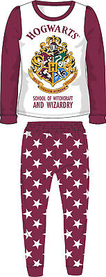 Girls Harry Potter Hogwarts Pyjamas Pjs Boxed Premium Cotton