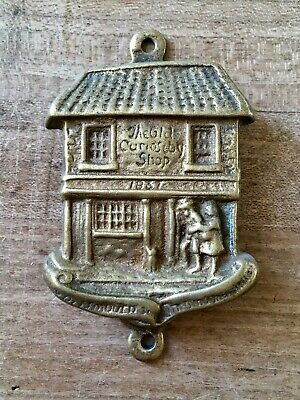 Brass Door Knocker The Old Curiosity Shop Hardware Salvage Vintage Small
