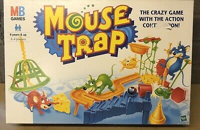 Mouse Trap Game Mb Games 1999  Complete Apart Form Instructions Vgc
