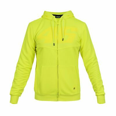 Valentino Rossi Hoodie VR46 MotoGP Core Yellow Official 2019