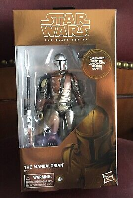 Star Wars THE MANDALORIAN Black Series - Carbonized Graphite-TARGET EXCLUSIVE