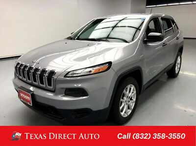 2015 Jeep Cherokee Sport Texas Direct Auto 2015 Sport Used 2.4L I4 16V Automatic FWD SUV