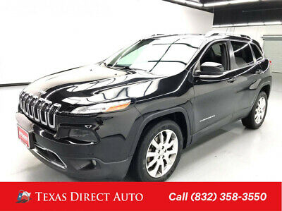 2014 Jeep Cherokee Limited Texas Direct Auto 2014 Limited Used 3.2L V6 24V Automatic FWD SUV