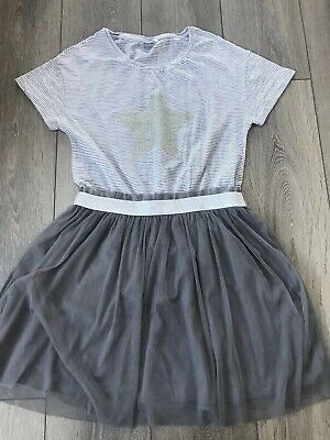Girls Next Grey Party Dress Age 15 Years