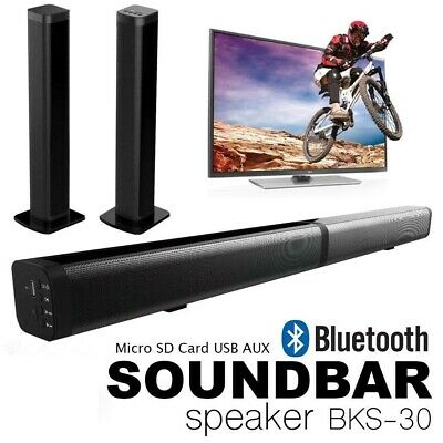 Soundbar Tv Cassa Bluetooth Usb Tf Home Theater Multifunzione Telecomando Stereo