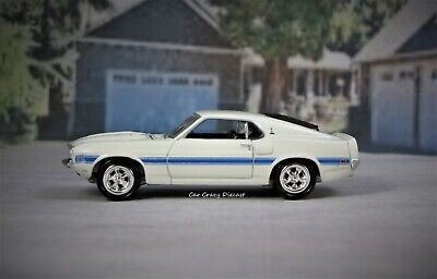 1969 69 Ford Mustang Shelby GT-350 Limited Collectible 1/64 Diorama or Display