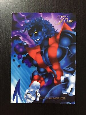 1994 Fleer Flair Marvel Annual Trading Card #54 NIGHTCRAWLER