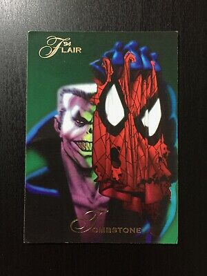 1994 Fleer Flair Marvel Annual Trading Card #60 TOMBSTONE