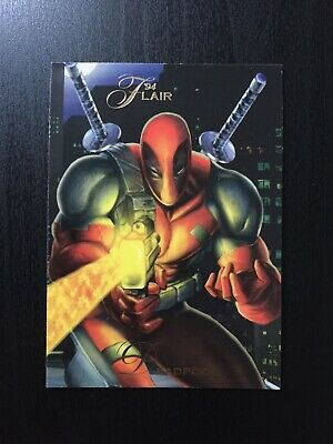1994 Fleer Flair Marvel Annual Trading Card #78 DEADPOOL