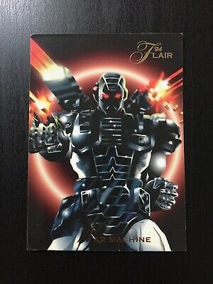 1994 Fleer Flair Marvel Annual Trading Card #90 WAR MACHINE