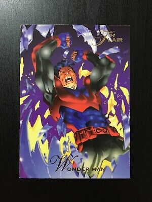 1994 Fleer Flair Marvel Annual Trading Card #98 WONDER MAN