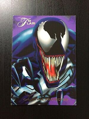 1994 Fleer Flair Marvel Annual Trading Card #100 LETHAL PROTECTOR Venom