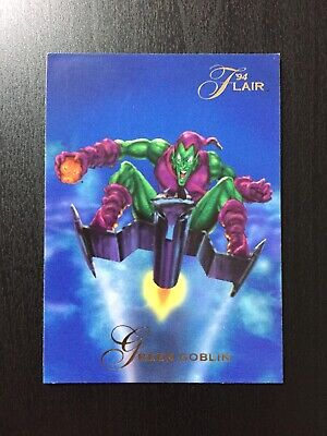 1994 Fleer Flair Marvel Annual Trading Card #102 GREEN GOBLIN
