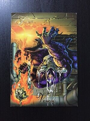 1994 Fleer Flair Marvel Annual Trading Card #136 VENOM