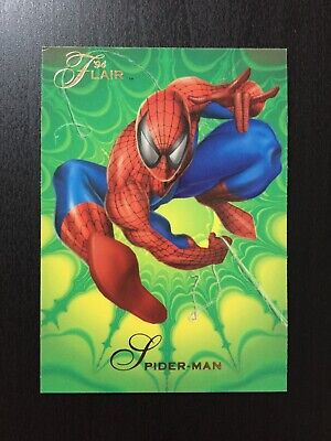 1994 Fleer Flair Marvel Annual Trading Card #139 SPIDER-MAN
