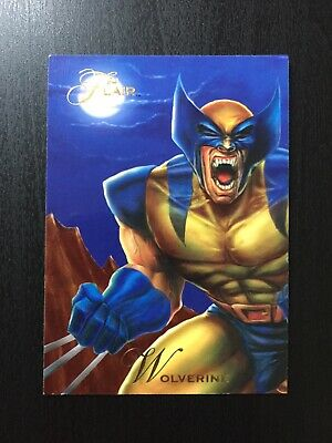 1994 Fleer Flair Marvel Annual Trading Card #148 WOLVERINE