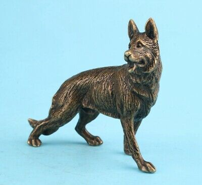 Unique China Bronze Statue Animal Wolf Old Mascot Decorated Colle Gift