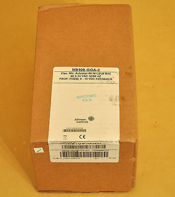 New Sealed Johnson Controls Proportional Actuator M9109-GGA-2