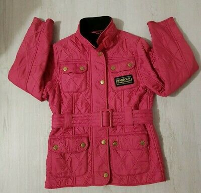 Girls Barbour International Polarquilt Jacket Age 6-7 Years