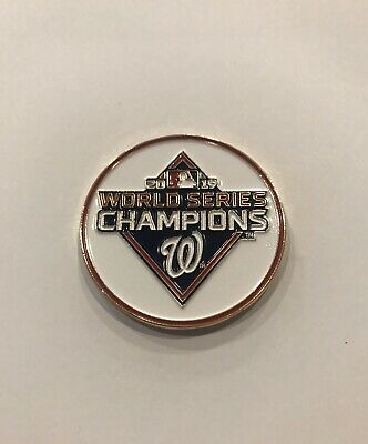 Washington Nationals World Series Champions Coin 2019 NEW Challenge Coin Free Sh