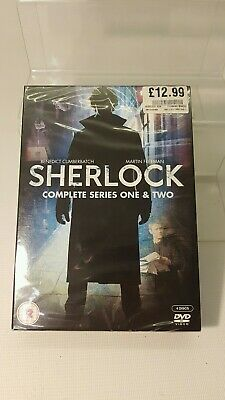 DVD Sherlock Holmes - Complete Series One & Two NEW & SEALED.