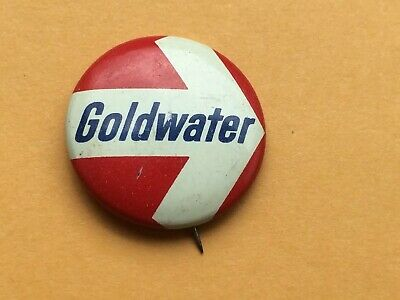Vintage Goldwater Presidential Election Pin Back Button
