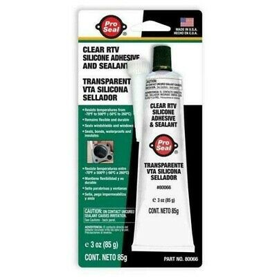 RTV Silicone Sealant Clear 85gm FREE DELIVERY