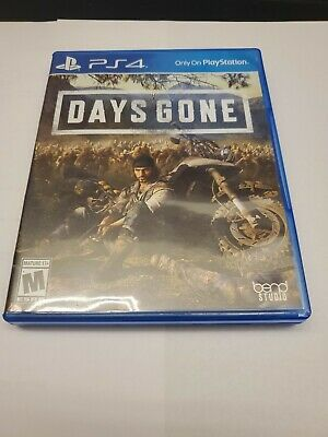 Days Gone game disc w/case no scratches PS4 (Playstation 4, 2019)