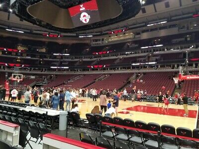 2 Tickets Chicago Bulls Atlanta Hawks Trey Young  12/28/19  Sec 121 Row 3 Bench