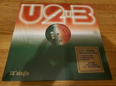 "U2 Three 12"" Vinyl 2019 Record Store Day Black Friday RSD! NEW IN SHRINK WRAP!!"