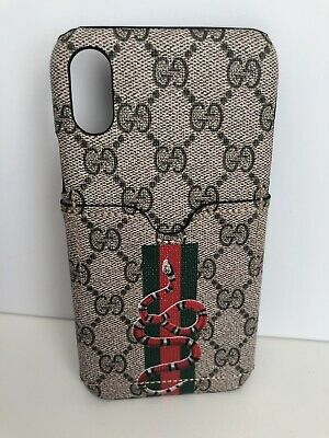 FOR IPHONE XR Gucci Canvas Tank Case cover with original