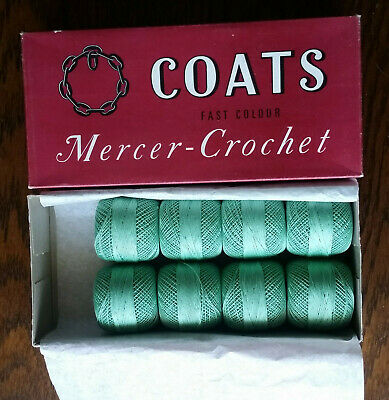 Coats Chain Mercer Crochet 20 Vintage Cotton Thread Shade 623 8x20g Balls