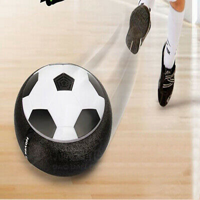 Indoor LED Hover Football Air Power Floating Soccer Ball Light Up Ball Kids Toy