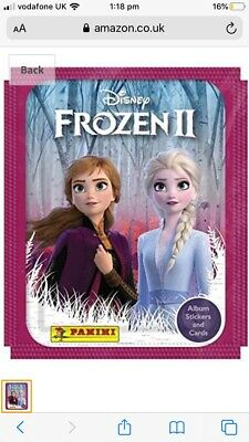 FROZEN 2 PANINI CHOOSE YOUR STICKERS BUY 4 GET 10 FOR FREE
