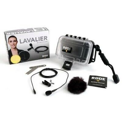 Rode Lavalier Lapel Microphone with Rode MiCon XLR adaptor