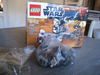 LEGO Star Wars Elite Clone Trooper & Commando Droid Battle Pack (9488) in OVP