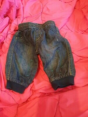 Lovely Boys George Jeans Age 3-6 Months