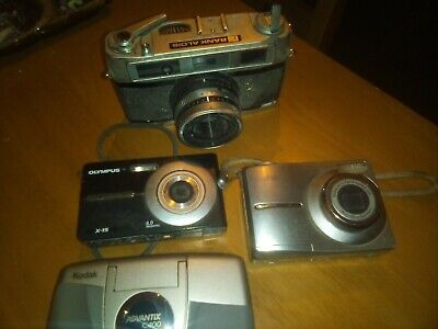 Cameras Old And New Job Lot