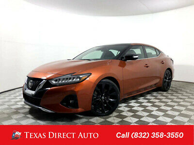 2019 Nissan Maxima SR Texas Direct Auto 2019 SR Used 3.5L V6 24V Automatic FWD Sedan Premium Bose