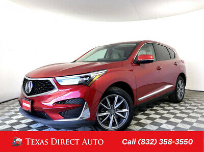 2019 Acura RDX w/Technology Pkg Texas Direct Auto 2019 w/Technology Pkg Used Turbo 2L I4 16V Automatic FWD SUV
