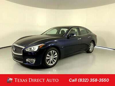 2018 Infiniti Q70 3.7 LUXE Texas Direct Auto 2018 3.7 LUXE Used 3.7L V6 24V Automatic RWD Sedan Premium