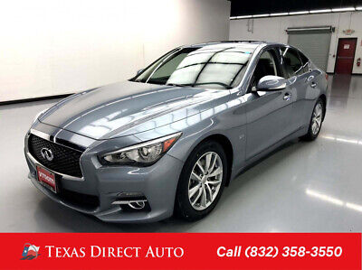 2016 Infiniti Q50 3.0t Premium Texas Direct Auto 2016 3.0t Premium Used Turbo 3L V6 24V Automatic RWD Sedan