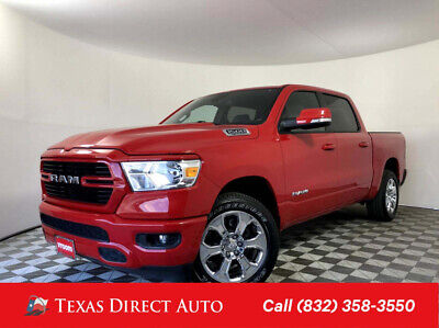 2019 Ram 1500 Big Horn/Lone Star Texas Direct Auto 2019 Big Horn/Lone Star Used 5.7L V8 16V Automatic 4WD Pickup